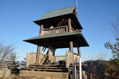 猿ばみ城展望台