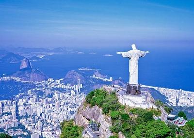 リオデジャネイロ コルコバードのキリスト像