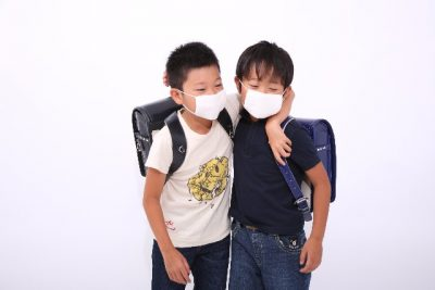 インフルエンザ 小学生